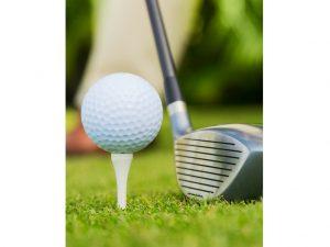 Golf Ball & Club