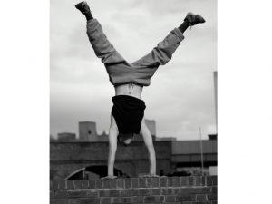 Teenager Handstand