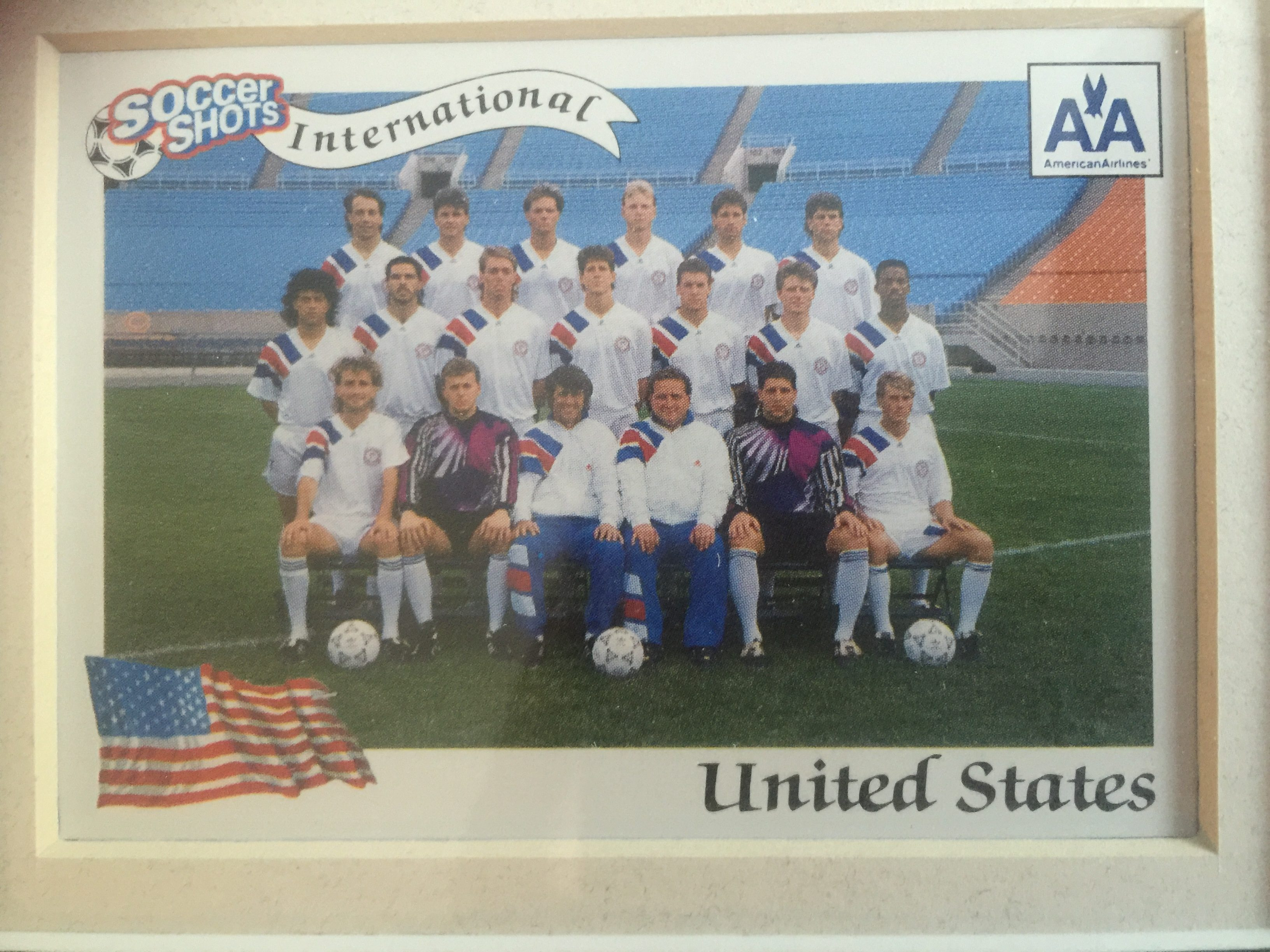 US National Team (Troy Snyder, Top Row, 2nd From Right)