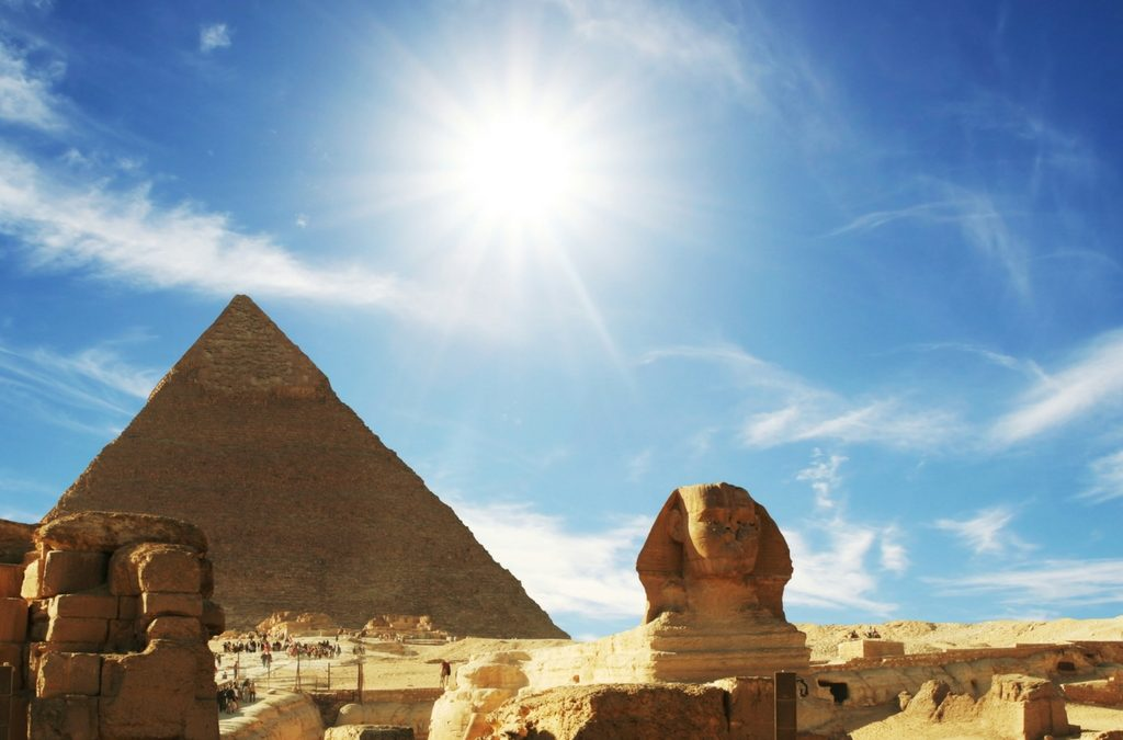 How Many Pennies Does It Take To Get To Egypt?