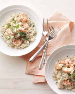 Shrimp Herb Risotto
